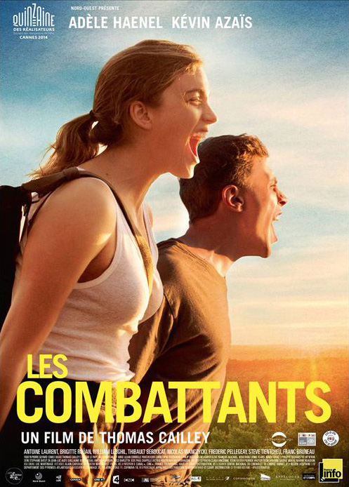 affiche film les Combattants