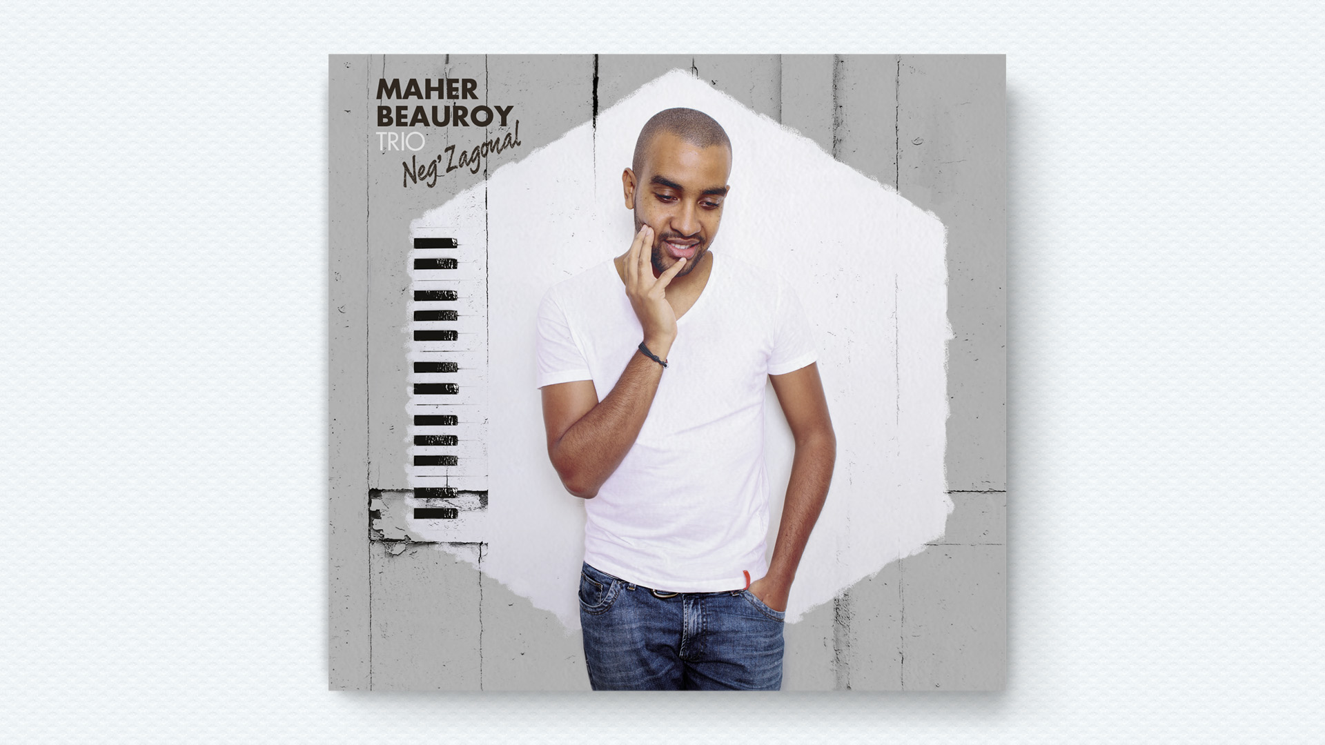 cover album Jazz Maher Beauroy - Neg'zagonal