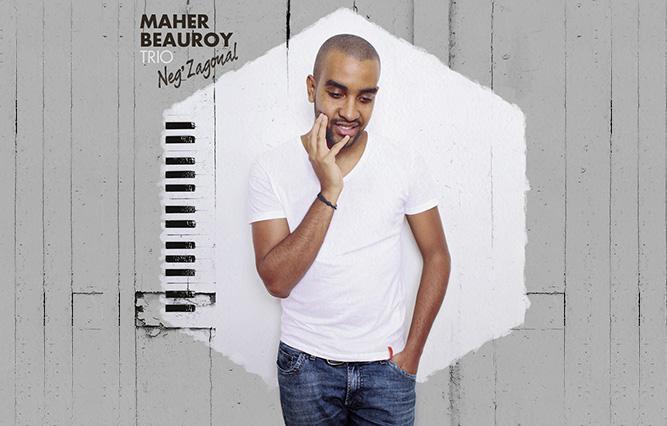 cover album Jazz Maher Beauroy - Neg'zagonal