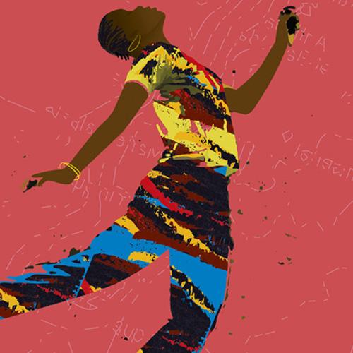 Création visuel pour le festival de danse Lyannaj