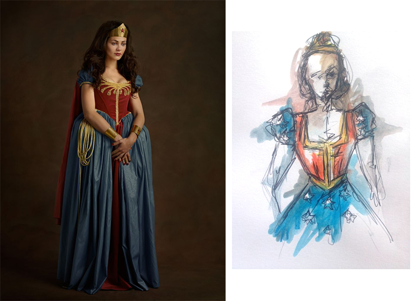 Wonder Woman - Super Flemish - Sacha Goldberger