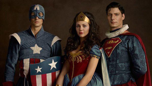 Capitaine America - Wonder Woman - Super Man - Super Flemish - Sacha Goldberger